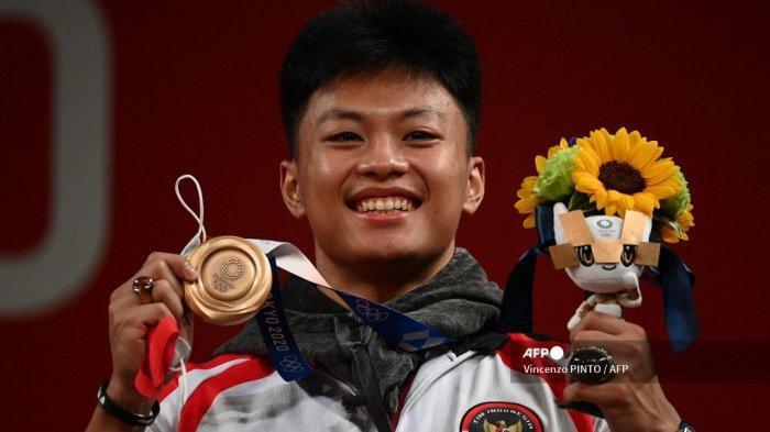Rahmat Erwin Abdullah Tambah Medali Perunggu Indonesia di Olimpiade 2021 dari Cabor Angkat Besi