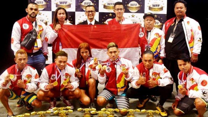 Atlet Persatuan Binaraga dan Fisik Indonesia Juara Umum di Ajang WFF Dennis World Wide Classic 2019