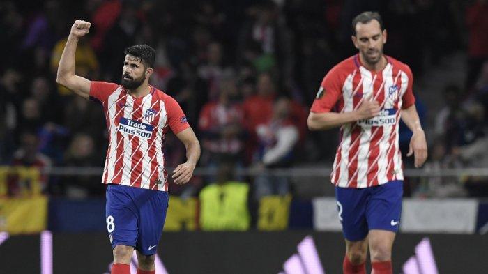 Jadwal Liga Spanyol, Atletico Madrid vs Getafe, Kalah Saing dengan Suarez, Costa Ngotot Hengkang