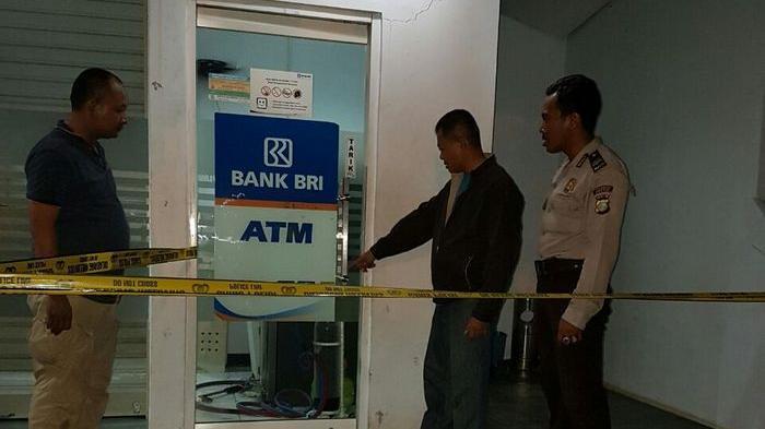 Oknum Polisi dan Siswa SMA Nekat Bobol ATM