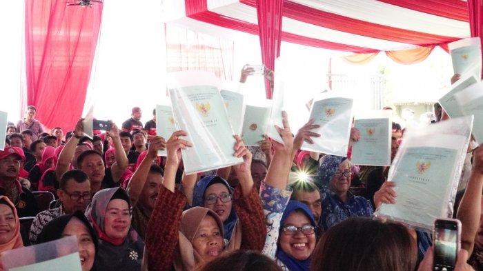 Kementerian ATR/BPN Keluarkan Sertifikat Tanah Eks Eigendom 44 Hektare