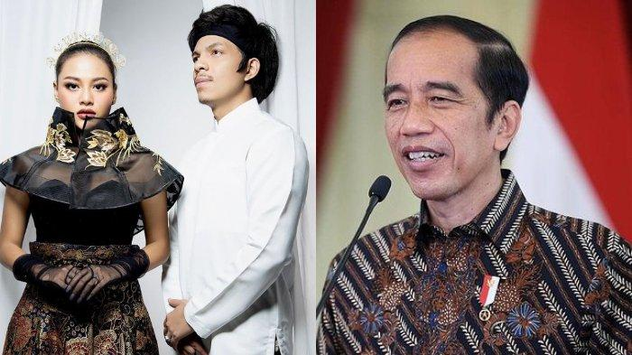 Presiden Joko Widodo (Jokowi) dikabarkan akan hadir menjadi saksi dalam pernikahan Aurel dan Atta, Sabtu (3/4/2021) hari ini.