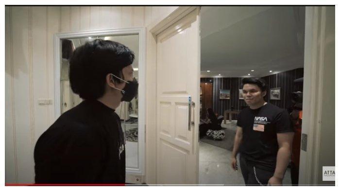 Atta dan Thariq Halilintar dalam tayangan YouTube Atta Halilintar, Rabu (7/10/2020).