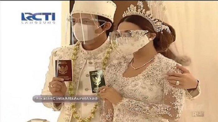 Ashanty di Pelaminan, Krisdayanti Antar Presiden Jokowi dan Iriana Meninggalkan Acara Atta-Aurel