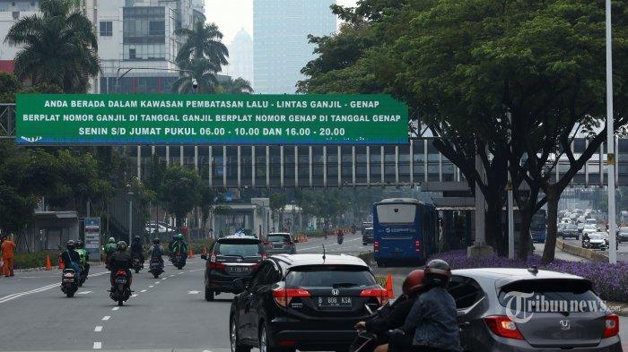 25 Ruas Jalan Jakarta Kembali Diberlakukan Aturan Ganjil Genap, Tilang Diterapkan Mulai 6 Agustus