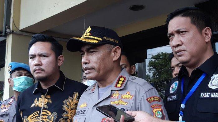 Kombes Pol Audie S Latuheru di Polres Metro Jakarta Barat, Jumat (20/3/2020).