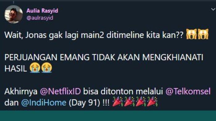 Viral Pria Mention Twitter Netflix Selama 90 Hari, Sempat Mandek lalu Lanjut Berkat Banyak Dukungan
