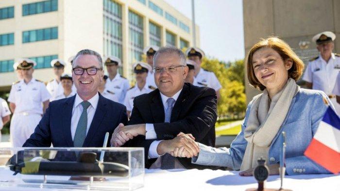 Prancis Merasa Ditikam Dari Belakang, Tuduh AS Gagalkan Kesepakatannya dengan Australia