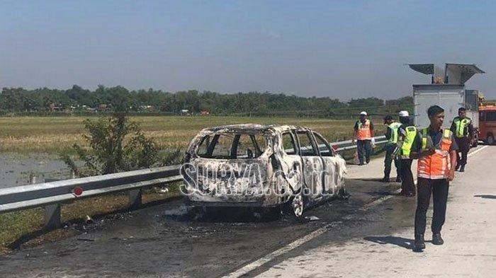 Tabrak Avanza Hingga Terbakar di Tol Grogol, Pengemudi Mercy Ditetapkan Tersangka