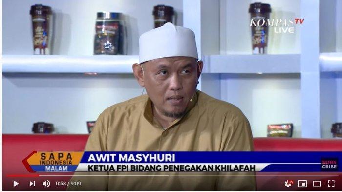 Awit Masyhuri dalam acara Sapa Indoensia Malam, KompasTV.