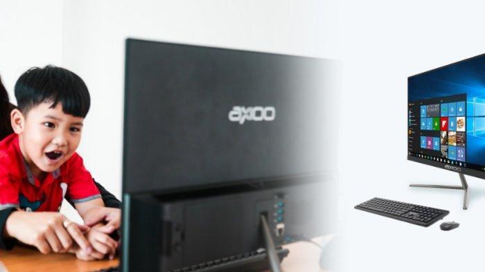 Axioo Hadirkan Seri Komputer Baru dengan Komponen CPU yang Menyatu Pada Layar