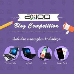 Axioo Gelar Lomba Blog Gadget