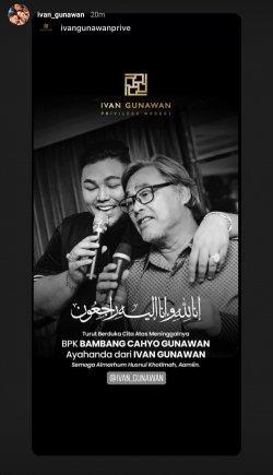Unggahan Ivan Gunawan