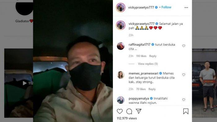 Ayah Vicky Prasetyo Meninggal 1