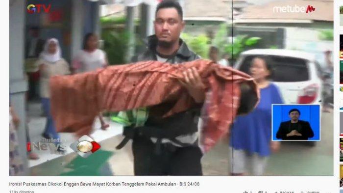 Viral Ayah Bopong Jenazah Anaknya karena Ditolak Gunakan Ambulans Puskesmas, Dinkes: Sesuai SOP