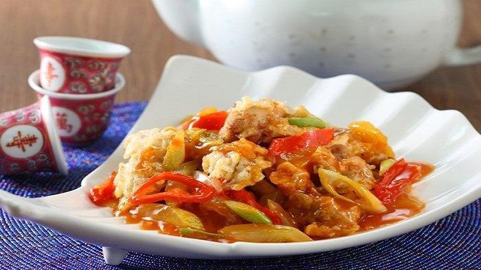 Resep dan Cara Membuat Ayam Kuluyuk, Chinese Food Segar Penggugah Selera