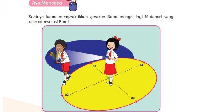 KUNCI JAWABAN Tema 8 Kelas 6 SD Halaman 42 43 44 45 46 47 48 Buku Tematik: Orbit Bumi