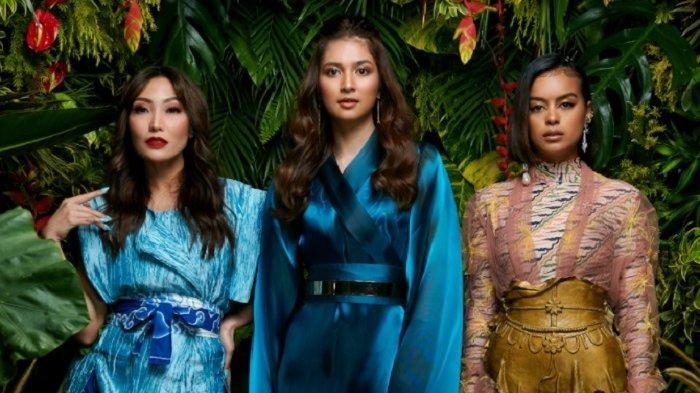 Ayu Dewi, Mikha Tambayong, dan Eva Celia menjadi pengisi suara Raya and the Last Dragon.