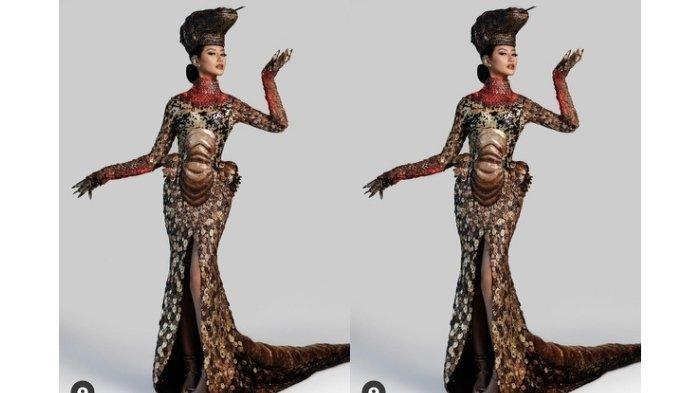 Profil Ayu Maulida, Penampilannya di Miss Universe 2021 Pakai Kostum Komodo Tuai Pujian