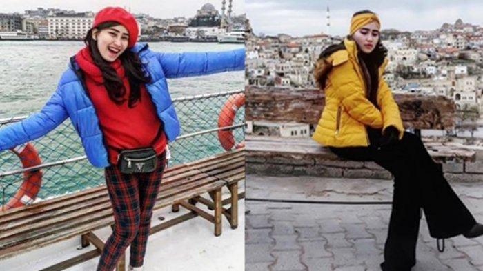 Di Balik Foto-foto Liburan Ayu Ting Ting di Turki, Keluarga Bawa Beras hingga Ikan Asin untuk Makan