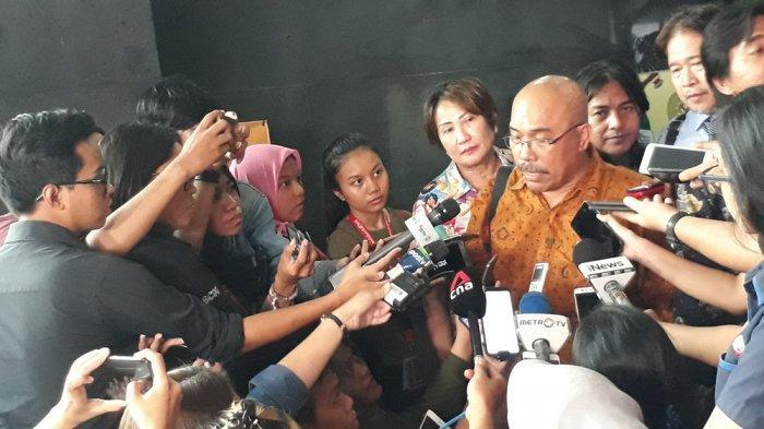 Juru Bicara Tim Advokasi Korban Banjir Jakarta 2020 Azas Tigor Nainggolan, di PN Jakarta Pusat, Senin (13/1/2020).