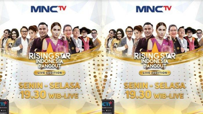 73 Peserta Bersaing di Babak Live Audition Rising Star Indonesia Dangdut