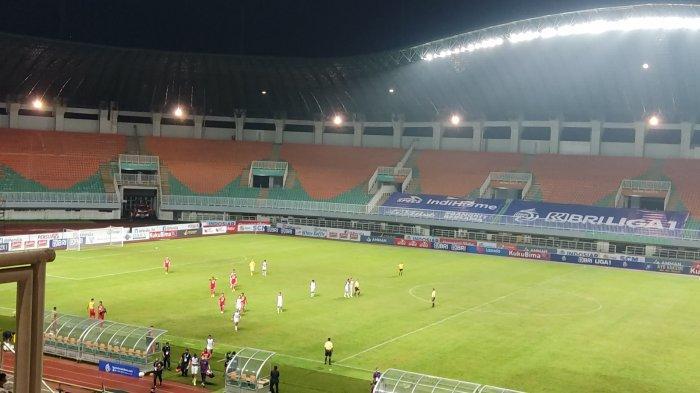 Hasil Persija Vs Persita, Rohit Chand Bikin Gol, Simic Jarang Disuplai, Skor Imbang 1-1 Babak I