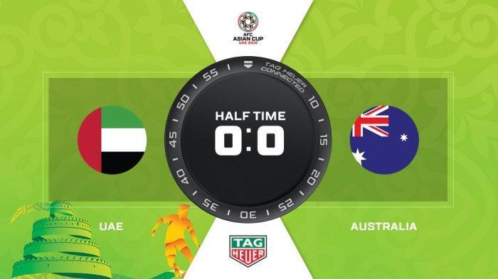 Babak Pertama Uni Emirat Arab Vs Australia Perempatfinal Piala Asia AFC 2019, Skor Sementara 0-0