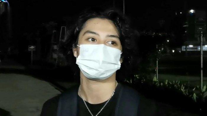Bastian Steel ketika ditemui di kawasan Senayan, Jakarta Pusat, Senin (17/5/2021) malam.