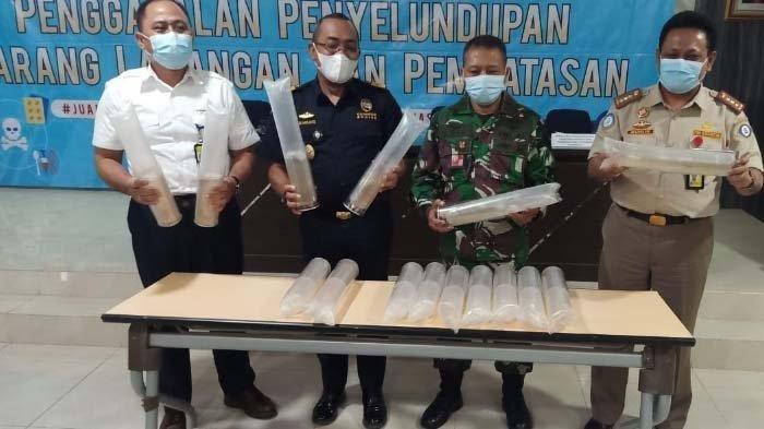 Baby Lobster Senilai Rp 2,9 M Gagal Diselundupkan ke Batam Lewat Bandara Juanda