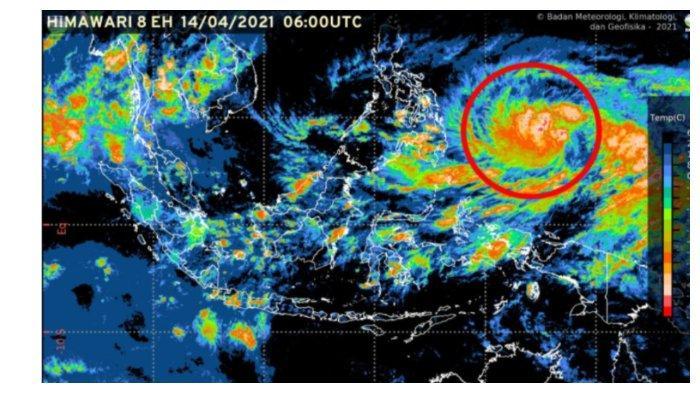 Waspadai Badai Tropis Surigae di Sulawesi Utara, BMKG: Akan Berkembang Jadi Badai Tropis Kuat