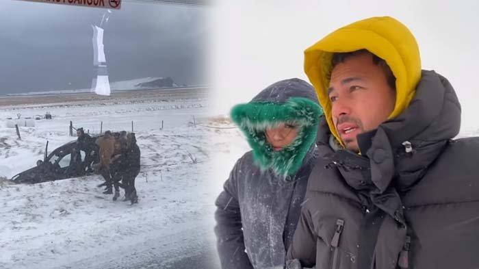 Nagita Slavina Diterjang Badai Salju, Raffi Ahmad Soroti Keberaan Rafathar: Aduh Ya Allah