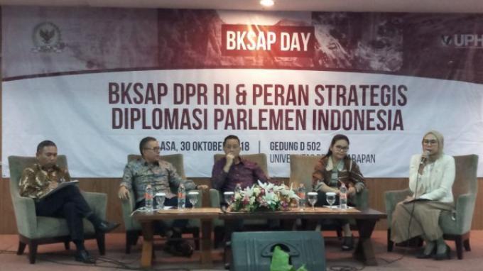 BKSAP DPR Bangkitkan Semangat Generasi Muda Berkontribusi Melalui Diplomasi