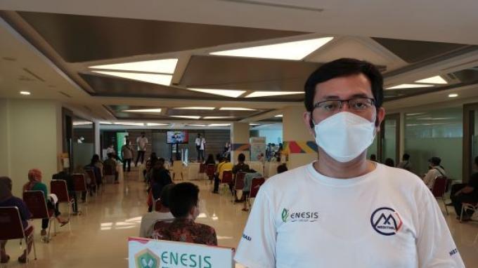 CEO Medithru Imbau Masyarakat untuk Mengikuti Vaksinasi di JEP