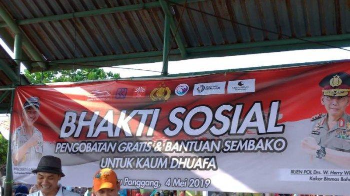 Baharkam Mabes Polri Gelar Bakti Sosial untuk Warga Pulau Panggang Kepulauan Seribu