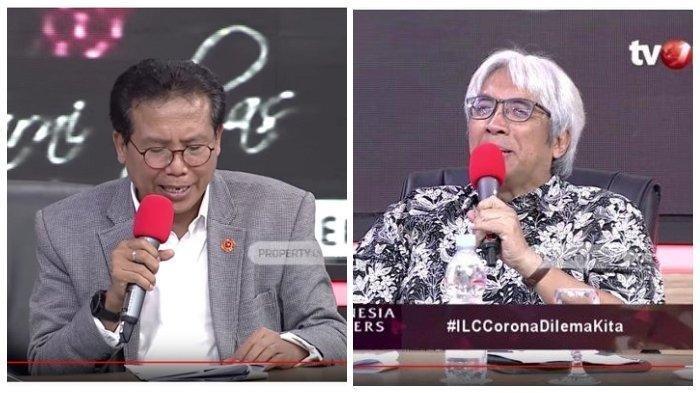 DI ILC, Sosiolog UI Imam Prasodjo Pesan pada Jokowi lewat Fadjroel: Kasih Tahu Presiden Tolong Ini