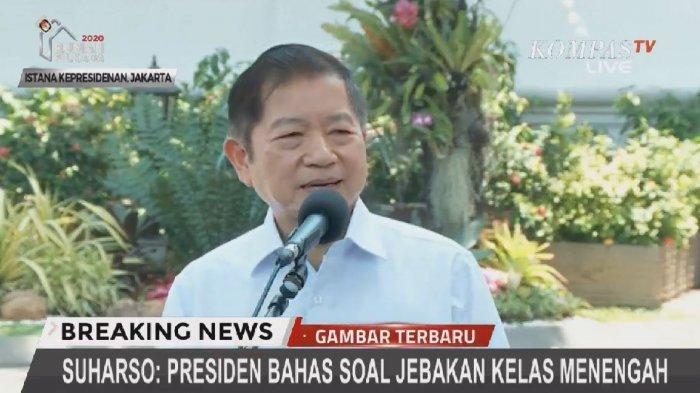 Bahas Income Trap dengan Presiden Jokowi, Calon Menteri Suharso Monoarfa Sudah Langsung Diberi PR