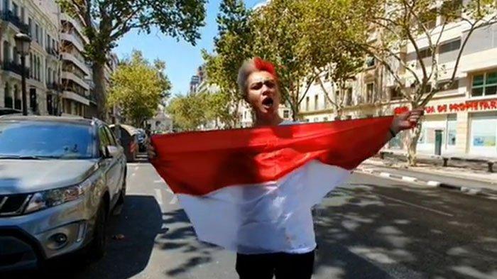Reaksi Paula Verhoeven Lihat Baim Wong Ganti Warna Rambut Jadi Merah-Putih: Pede Banget Sih!