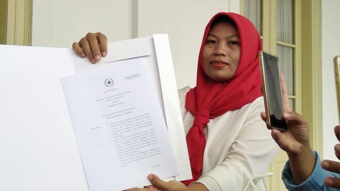Baiq Nuril Harap Pernyataan Jokowi Soal Revisi UU ITE Terlaksana