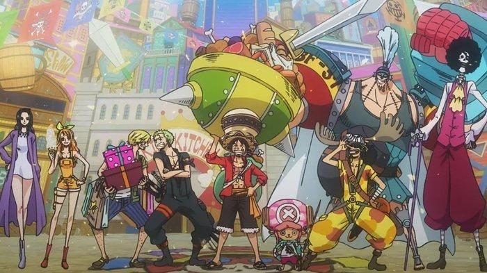 Bajak laut Topi Jerami di  film One Piece: Stampede (2019) (IMDb.com)