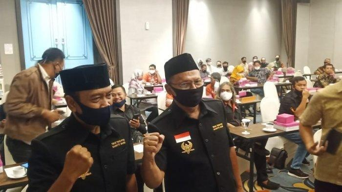 Pasangan calon Independen Pilkada Solo 2020 Bagyo Wahyono-FX Supardjo (Bajo), Jumat (21/8/2020).