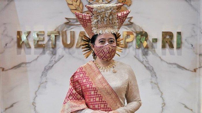 Hadiri Upacara HUT ke-76 RI, Puan Maharani Kenakan Baju Adat Bundo Kanduang