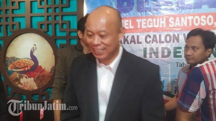 Bakal Calon Wali Kota Surabaya, Samuel Teguh Santoso. TRIBUNJATIM.COM/SOFYAN ARIF CANDRA SAKTI