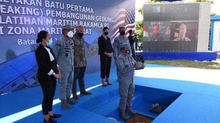 AS dan Indonesia Bangun Pusat Pelatihan Maritim Bakamla Senilai USD 3,5 Juta di Batam