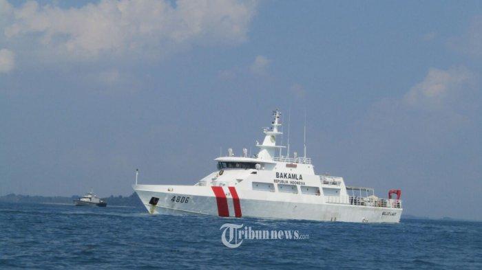 Kapal Bakamla Cegat Kapal Survei China yang Sempat Matikan AIS 3 Kali di Perairan Indonesia