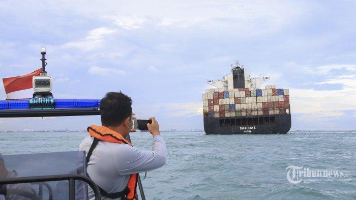 KSOP Tanjung Balai Investigasi Kandasnya Kapal MV Sharaz dan KM Samudera Sakti 1