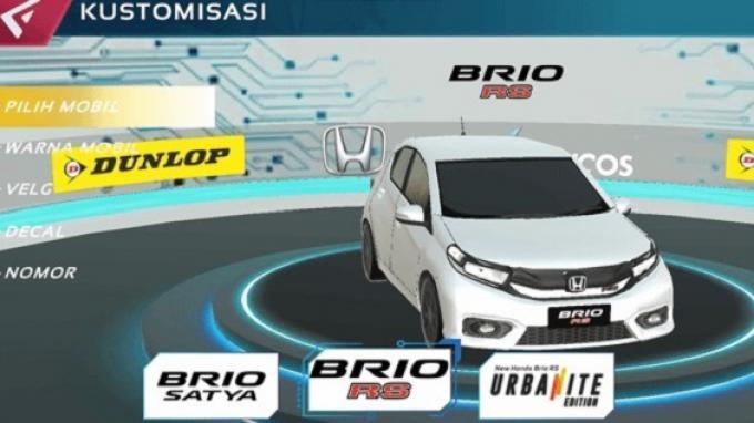 Libatkan Developer Game Lokal, Honda Gelar Kompetisi Balap Brio Virtual Drift Challenge Seri 2