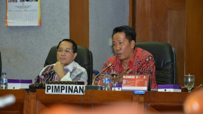 Baleg DPR Adakan Rapat Konsultasi Dengan MA Dan KY