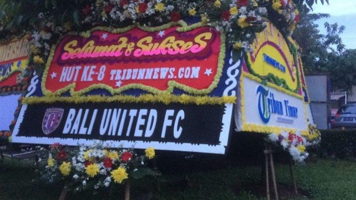 Bali United Ucapkan Selamat HUT ke-8 Tribunnews.com