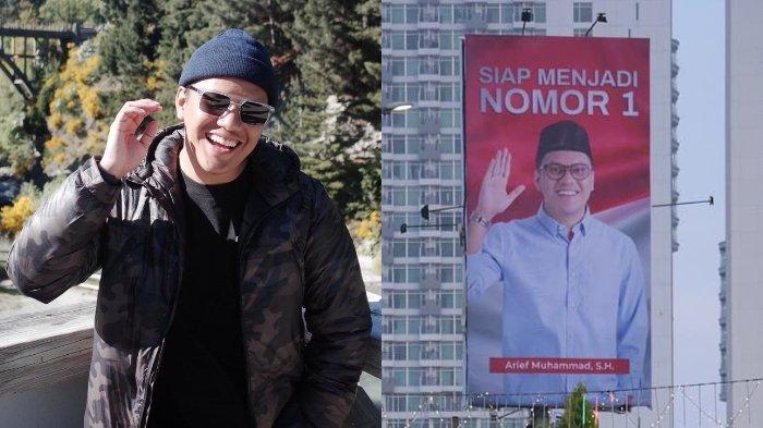 Baliho Arief Muhammad Bikin Heboh, Akui Bukan Main-Main hingga Beberkan Tanggal Deklarasi Resmi